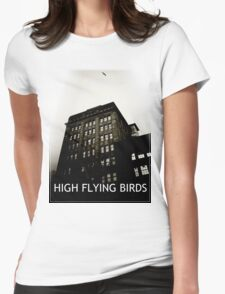 High Flying Birds Womens Fitted T-Shirt