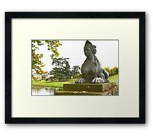 Compton Verney Sphinx Framed Print