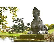 Compton Verney Sphinx Photographic Print