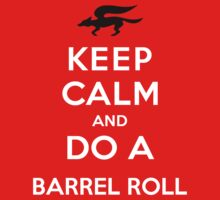 Keep Calm and Do a Barrel Roll by Koukiburra