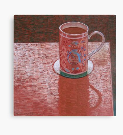 """Favorite cup"" Canvas Print"