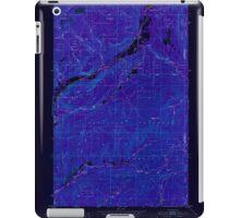 USGS Topo Map Washington State WA Aladdin 239770 1952 24000 Inverted iPad Case/Skin
