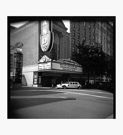 Putting on the Ritz (at the Schnitz) Photographic Print