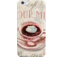Patisserie Irish Coffee iPhone Case/Skin