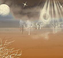 Martian Landscape by ckeenart