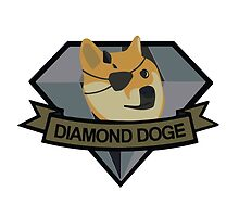 """Diamond Doge"" by gallo177"