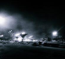 Nacht ist Künstler by moun