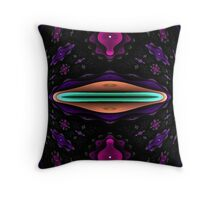 Kiss This Fish Throw Pillow