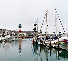 Oceanside Harbor Pano by Donovan Olson