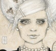 Belle of the Mothball Sticker