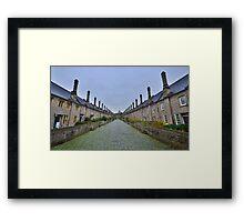 Somserset: Vicar's Close, Wells. Framed Print