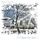 Merry Christmas & happy new year by Grega Gerhard