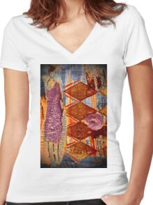 All Dressed Up & Nowhere To Go! T-Shirt Women's Fitted V-Neck T-Shirt