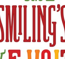 Buddy the Elf - Smiling's My Favorite! Sticker