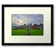 Somserset: Bath, Parade Gardens Framed Print