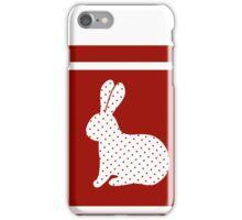 Eater rabbit iPhone Case/Skin