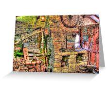 The Blacksmiths - HDR Greeting Card