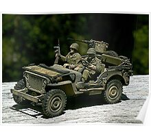 JEEP  -  1942 WILLY'S MB. Poster