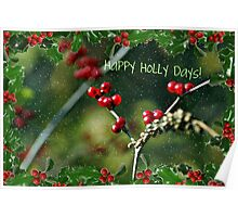 Happy Holly Days! Poster