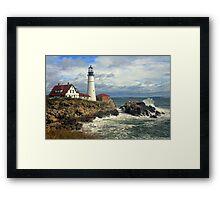 Portland Head Lighthouse, Maine Framed Print