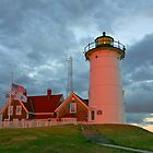 Nobska Point Lighthouse, Massachusetts by Jeremy D'Entremont