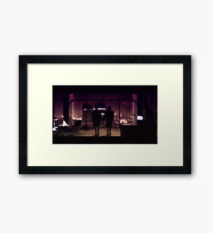 Love n mayhem (Fight Club) Framed Print