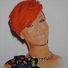 Red Rihanna by Gary Fernandez