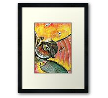 Colibri and company Framed Print