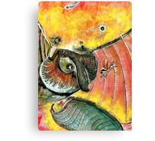 Colibri and company Canvas Print