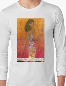 Dancing Lady T-Shirt Long Sleeve T-Shirt