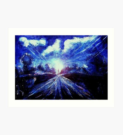 Twilight at Waterville Quebec Art Print