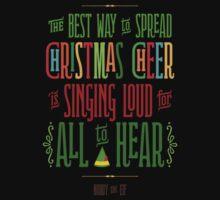 Buddy the Elf - Christmas Cheer Kids Tee