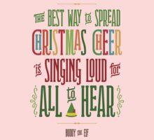 Buddy the Elf - Christmas Cheer Baby Tee