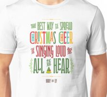 Buddy the Elf - Christmas Cheer Unisex T-Shirt