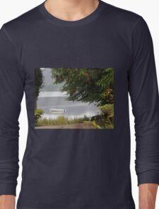 Donegal Peace  Lough Eske- Donegal Ireland Long Sleeve T-Shirt