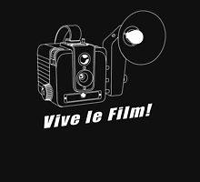 Brownie Hawkeye - Vive le Film! - White Line Art T-Shirt