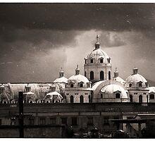 Catholic Cathedral - Xela, Guatemala by Alex Zuccarelli