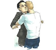 Post-Reichenbach Hug Photographic Print