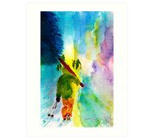 Walking Home Art Print