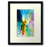 Walking Home Framed Print