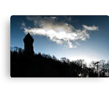 Wallace Monument Canvas Print