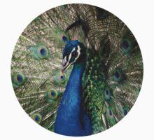 Peacock One Piece - Long Sleeve