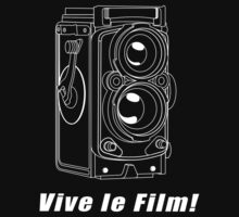 Rollei TLR - Vive le Film! - White Line Art by jphphotography