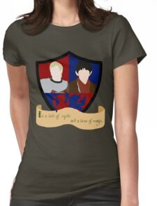 The Shield of Merlin & Arthur  Womens Fitted T-Shirt