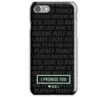 EXO Forever iPhone Case/Skin