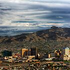 Downtown El Paso by Ray Chiarello