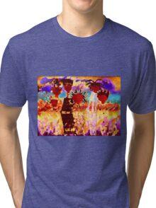 Jamaican Sisters T-Shirt Tri-blend T-Shirt