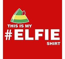 Elfie Shirt Photographic Print