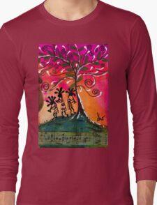 Let's Play Music T-Shirt Long Sleeve T-Shirt