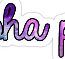 Alpha Phi Galaxy Sticker